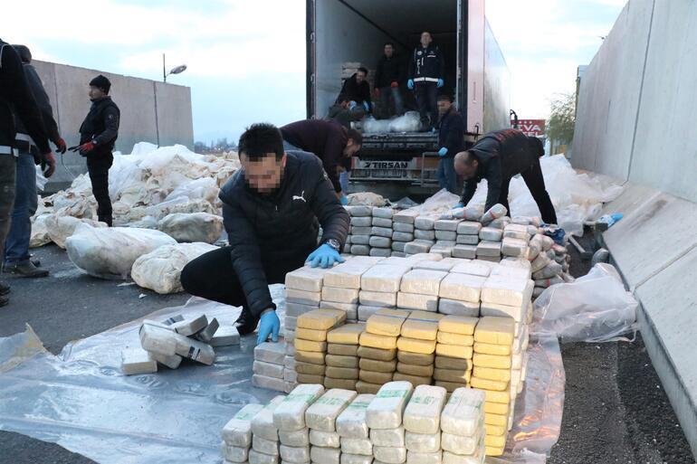 Son dakika: Erzincan'da 500 kilo eroin ele geçirildi