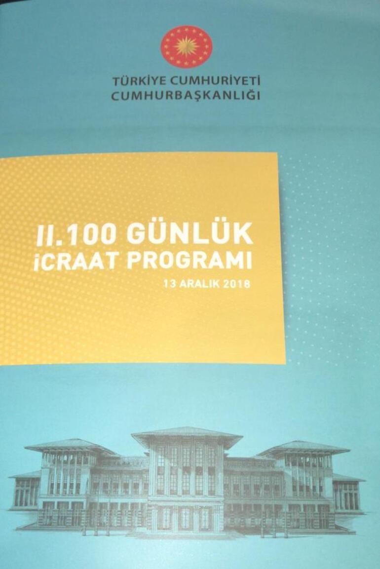 a9de5365acdac Son dakika... Cumhurbaşkanı Erdoğan İkinci 100 Günlük Eylem Planını açıkladı