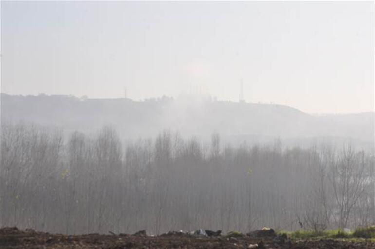 Diyarbakır'da yükselen nehir suları sise neden oldu