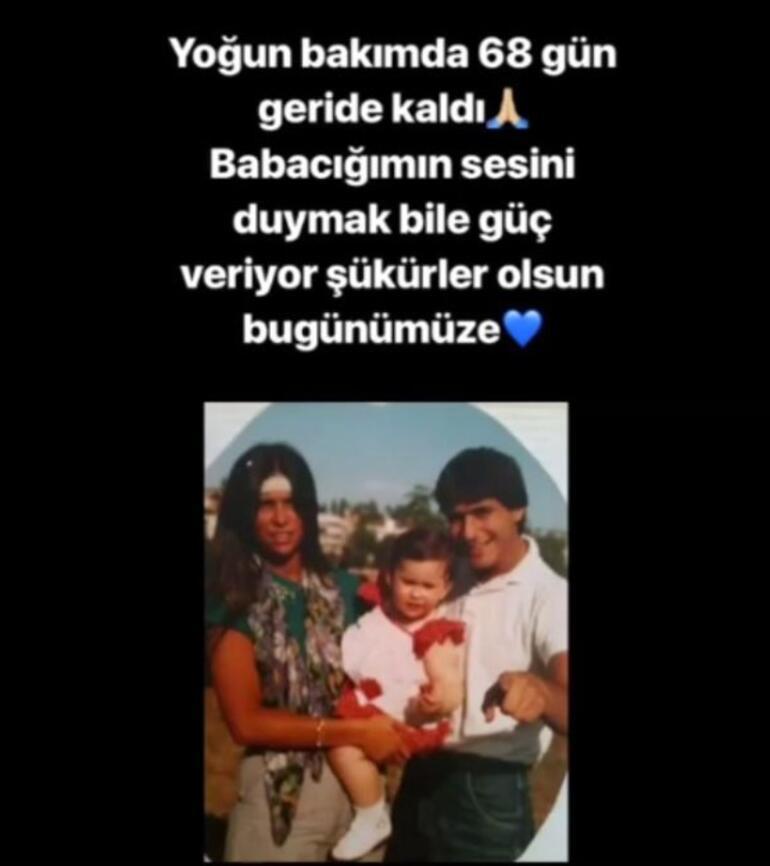 Mehmet Ali Erbilin Kızı Sezin Erbilden duygusal mesaj