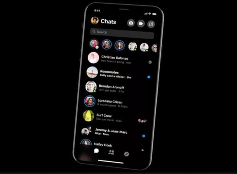 Facebook Messenger yakında kararacak