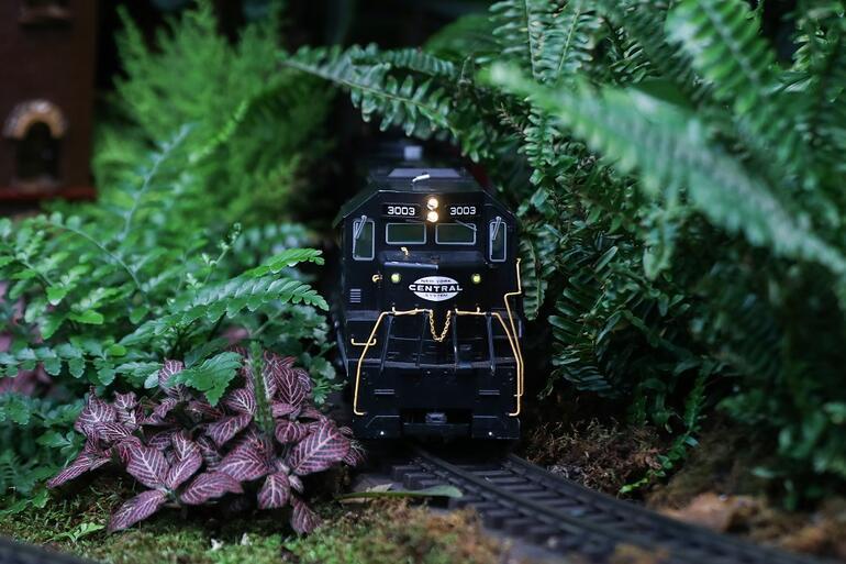 Minyatür New York: Tatil Treni Sergisi