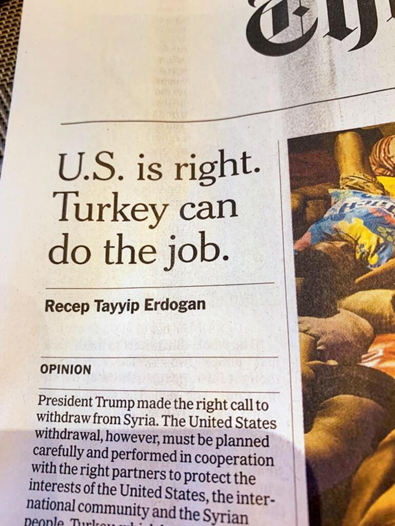 Ülke işte böyle bir yazı ile savunulur