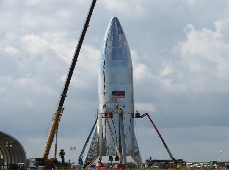 Marsa gidecek SpaceX Starship işte böyle görünüyor