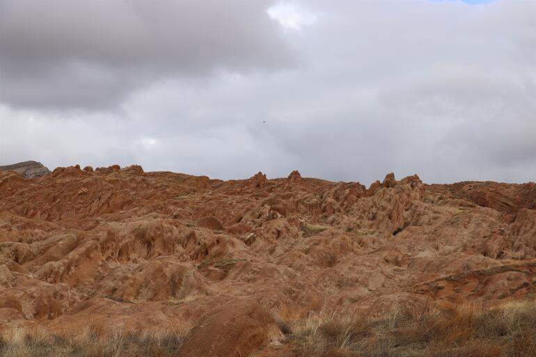 Yüz binlerce kişi oraya gitti Görenler kendini Marsta zannediyor