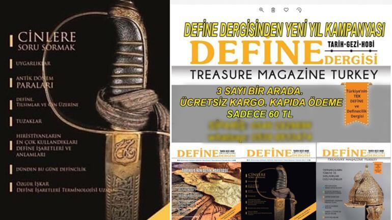 Defineciler dergi çıkardı... Arkeologlar isyan etti