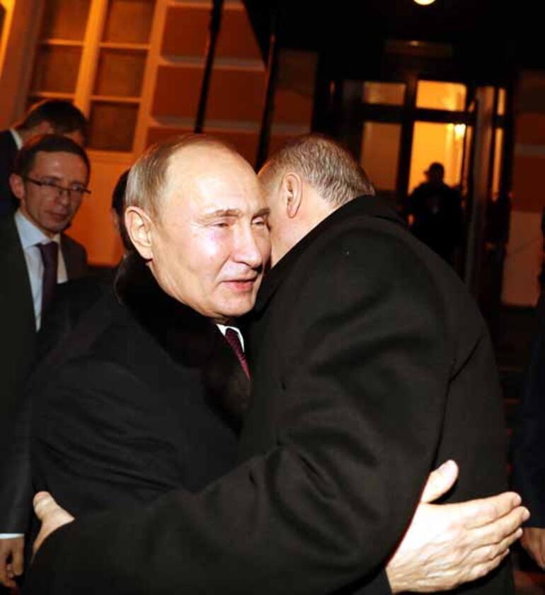 Putin, Cumhurbaşkanı Erdoğanı böyle uğurladı