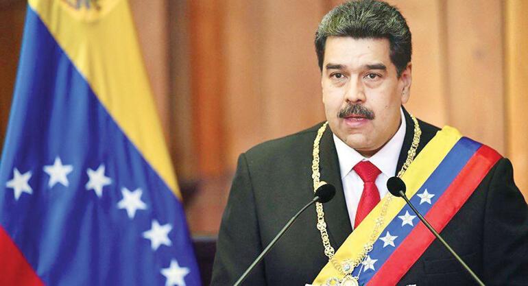 Maduro Bey'e mütevazı bir destek