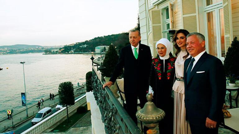 Cumhurbaşkanı Erdoğan, Ürdün Kralı Abdullah ile görüştü