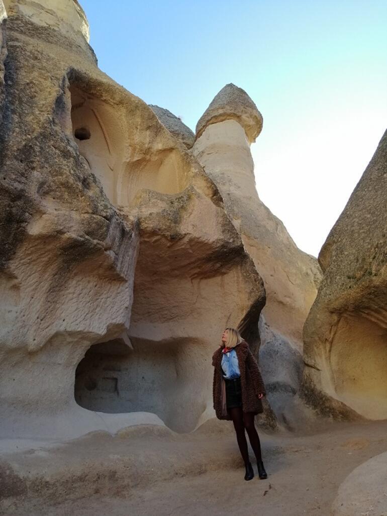 Kapadokyada kış güneşi