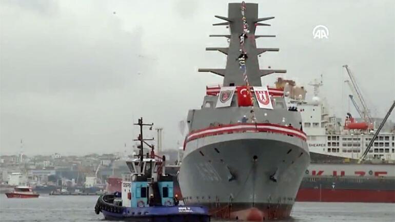 Son dakika: Cumhurbaşkanı Erdoğan: Ufuk Korveti Türkiyenin ilk istihbarat gemisi...