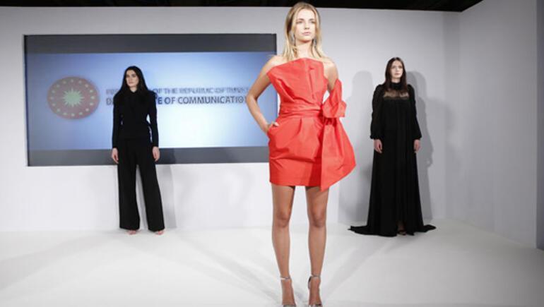 Yara izlerini sanata dönüştüren kadınlar Londra Moda Haftası'da
