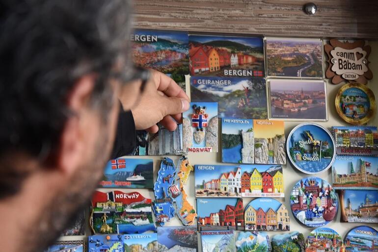 68 ülke gezen Türk fotoğrafçının magnet koleksiyonu