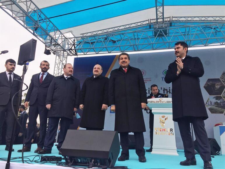 Bakan Kurum: Vatandaşlarımıza en iyi yaşam alanlarını sunmaya çalışacağız