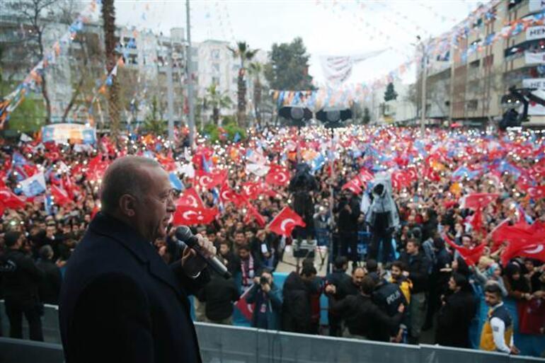 Cumhurbaşkanı Erdoğan: Meşru olmayan yollara tevessül ediyorlarmış