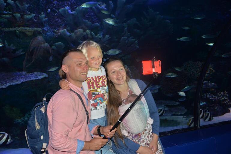 Ukraynalı çiftin, dünya turunda çocukları dünyaya geldi