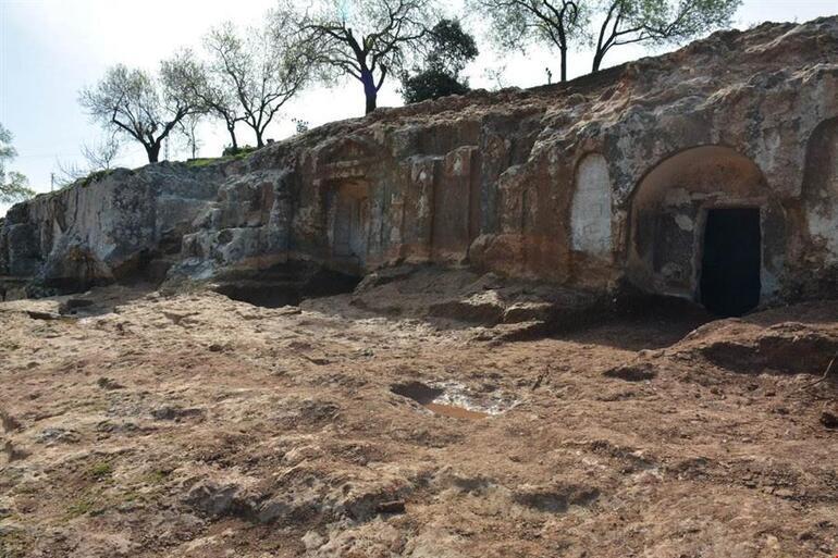 Altınözü'nde Roma Nekropolü turizme kazandırılıyor
