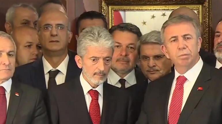 Mansur Yavaş Ankarada görevi devraldı