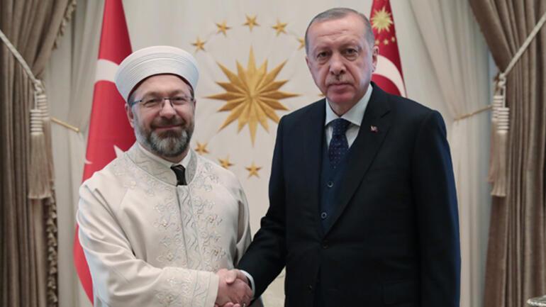 Cumhurbaşkanı Erdoğan Akar ile Erbaşı kabul etti