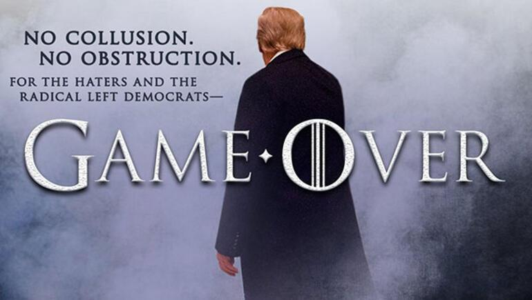 Trump yine yaptı Oyun bitti