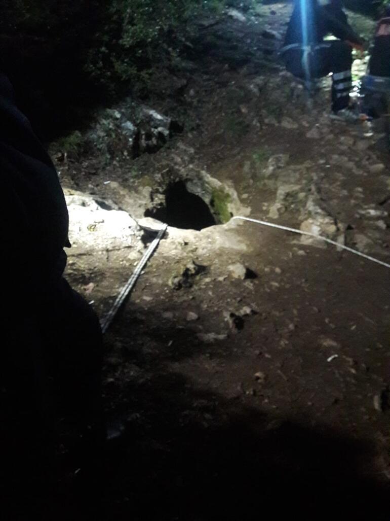 Son dakika Mağarada can pazarı 35 metre derinlikte mahsur kaldılar