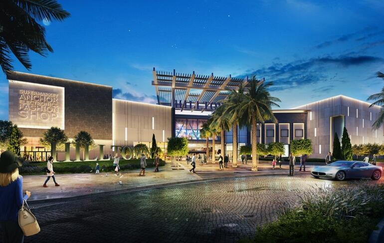 İzmir'e yeni cazibe merkezi Hilltown Karşıyaka