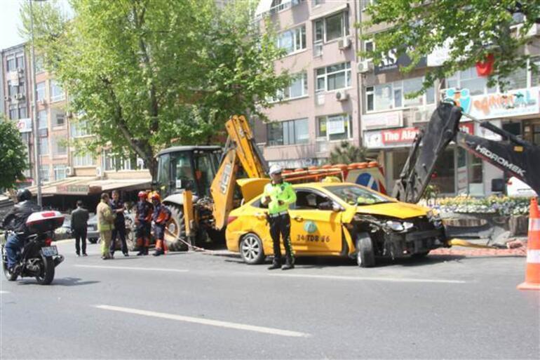 Beşiktaş'ta zincirleme kaza: 2 hafif yaralı