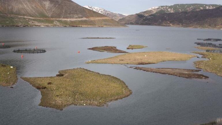 Su debisi yükseldi, adalar yüzmeye başladı