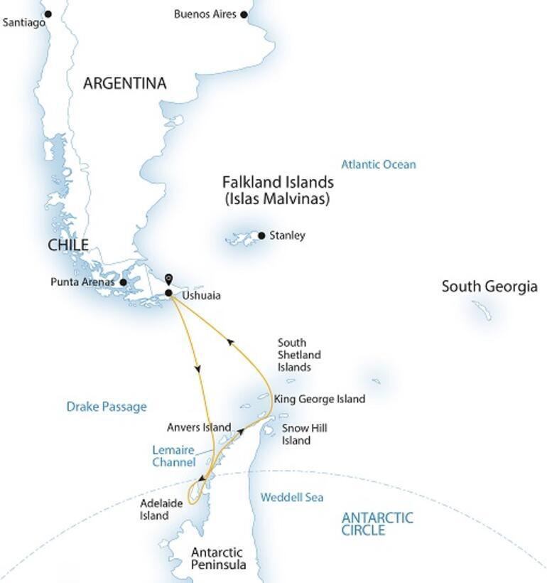 Gezginler ikiye ayrılır: Antarktika'ya ayak basanlar ve basmayanlar