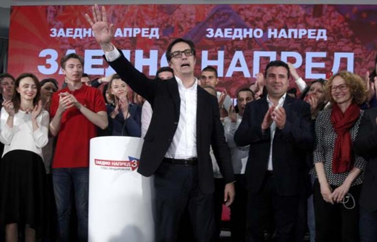 Kuzey Makedonya'da cumhurbaşkanı belli oldu
