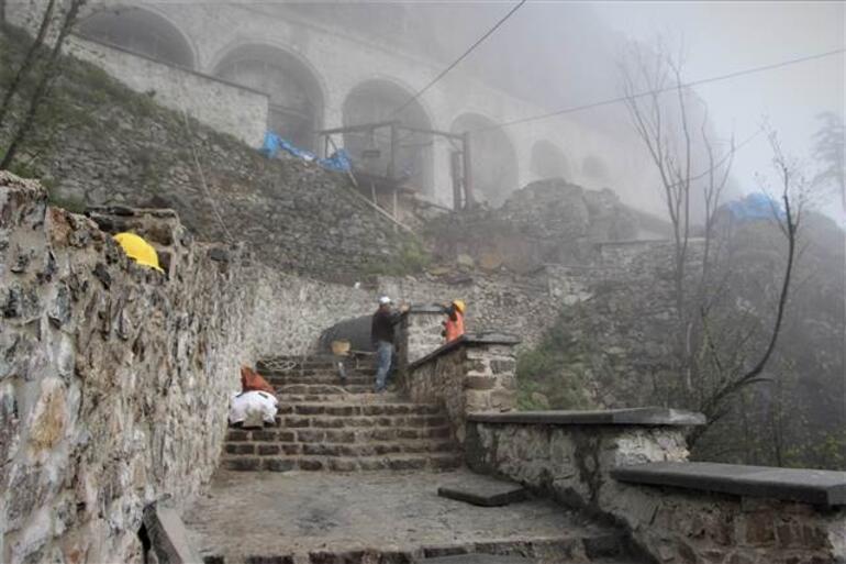 Sümela Manastırı ziyarete 1 hafta geç açılacak