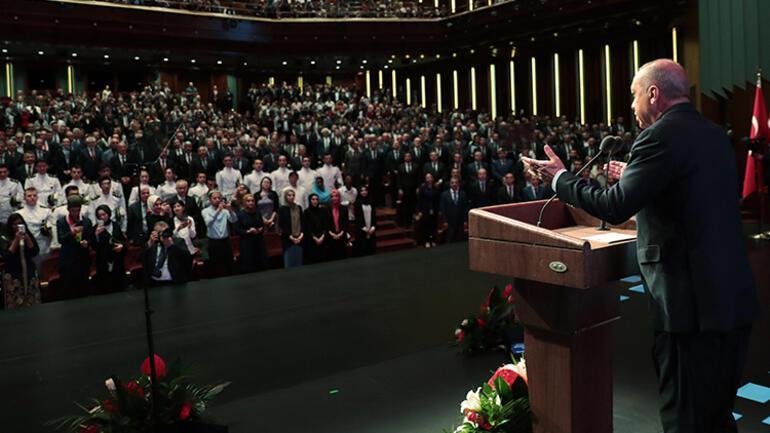 Son dakika: Cumhurbaşkanı Erdoğan: Türkiye'yi bilim insanları için cazibe merkezi haline getireceğiz