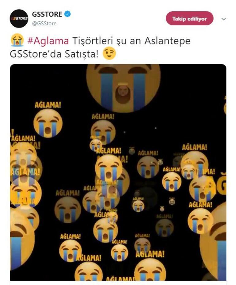 Galatasaraydan Fenerbahçeye olay gönderme Ağlama...