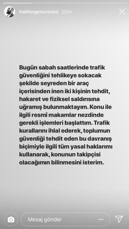 Halit Ergenç'e trafikte saldıran 2 kişi gözaltına alındı