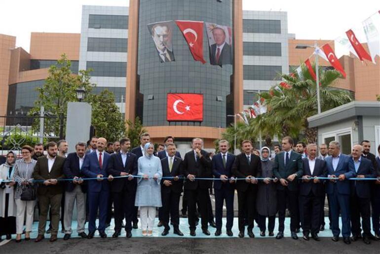 Son dakika: Cumhurbaşkanı Erdoğan Bahçelievlerde toplu açılış töreninde konuştu