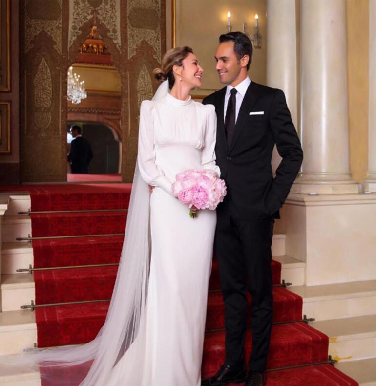Demet Şener-Cenk Küpeli nikahından ilk fotoğraflar