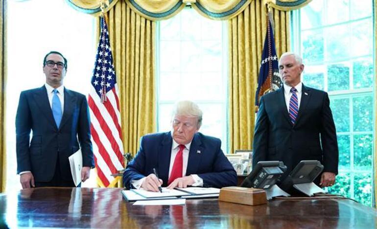 Son dakika... Tansiyon yükseliyor... Ve Trump imzaladı