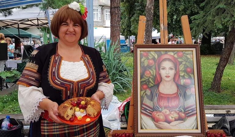 Köstendil Kiraz Festivali'nden renkli görüntüler