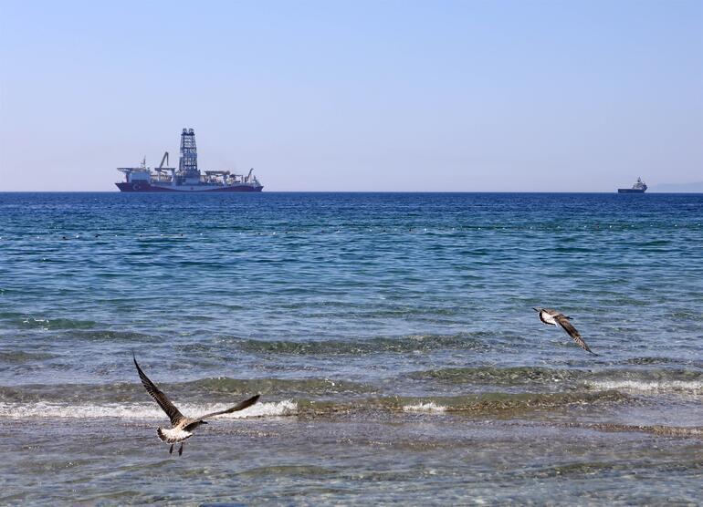 'Yavuz' sondaj gemisi Akdeniz'de
