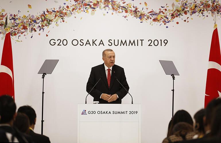 Son dakika... Cumhurbaşkanı Erdoğan: Yaptırım olmayacağını sayın Trumptan duymuş olduk