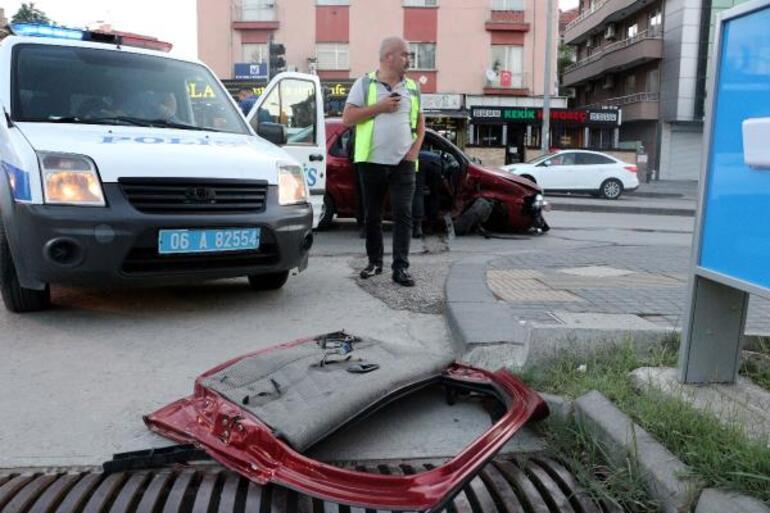 Ankarada dehşet 8 yaralı var... Arkasına bakmadan kaçtı...