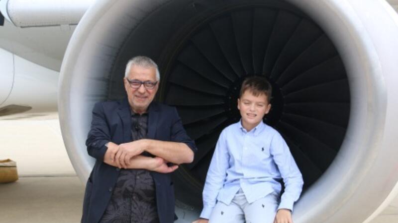 11 yaşında Boeing 737 uçurdu