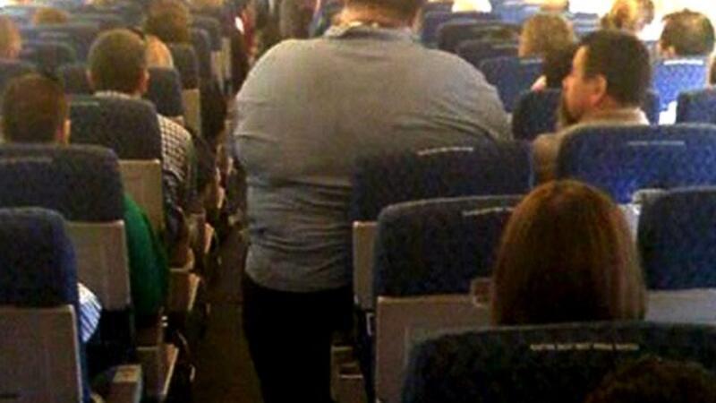 Uçakta sıkışmaya son