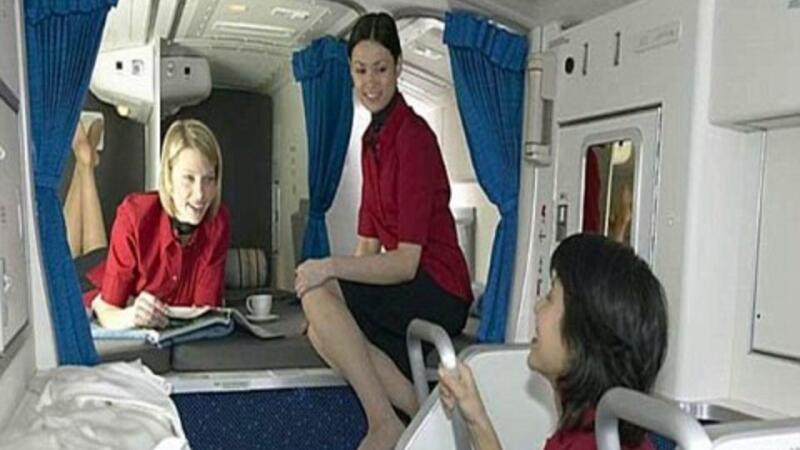 Uçakların gizli odası