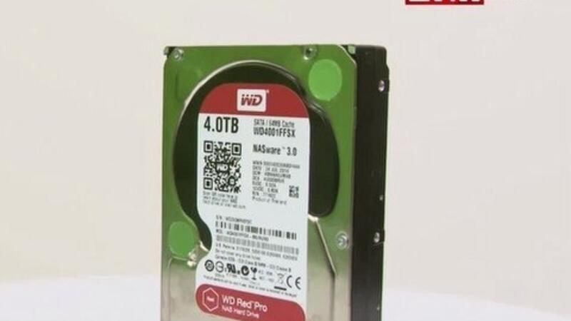 WD Red Pro video inceleme