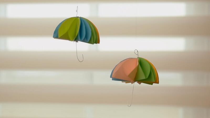 Gökkuşağı Şemsiye | Yaparım Bilirsin