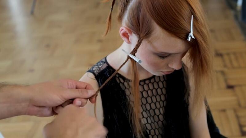 Yeni trend saç örgüsü | Elele