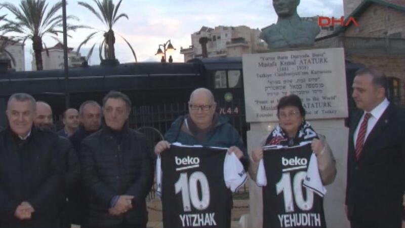 Beşiktaş Yönetimi'nden Beer Sheva'da anlamlı ziyaret