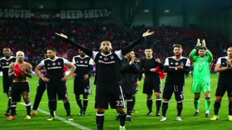 Beşiktaş'ın 3-1 Hapoel Beer Sheva