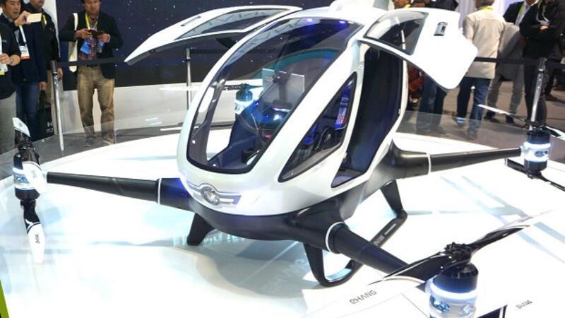 Dronelar artık insan taşıyacak!